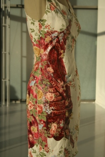 Saskia's dress, detail