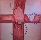 Red cross, 6' x 6