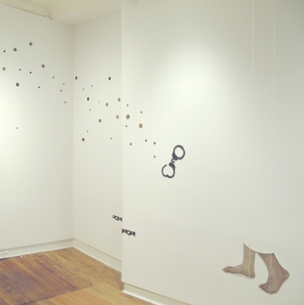 installation view Walker, Chain and Great Escape